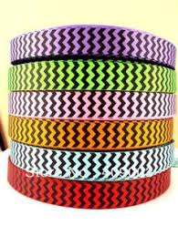 cheap ribbon for sale crafters vision moon kissed rainbow horizontal chevron grosgrain