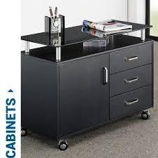 techni mobili computer desk with storage techni mobili home and office furniture