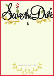 save the date template awesome save the date template free gallery of wedding