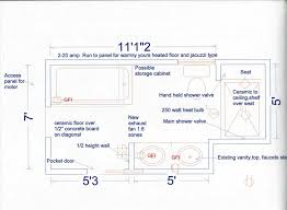 basement bathroom ideas floor plan and designs with wiring and tub