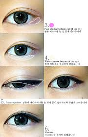 tutorial kiss korean the virtual vixen korean eye makeup looks how to fad
