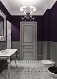 absolutely adore this purple tile not sure the husband would go