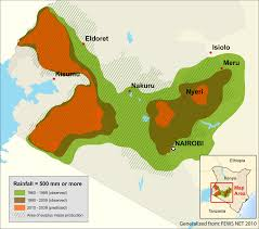 Horn Of Africa Map by Unep Grid Sioux Falls