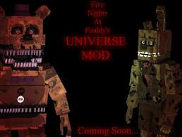how to make a fnaf fan game 1 7 10 five nights at freddy s universe mod forge minecraft