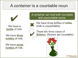 Countable And Uncountable Nouns Teaching How To Teach Noun Quantifiers Off2class