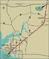 Florida Interstate Map by Fdot Us 231 Pd U0026e Study 217910 2 Florida Department Of