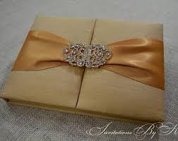 Box Wedding Invitations Silk Invitation Box Etsy