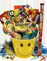 Candy Gift Basket You Smiles Candy Gift Basket