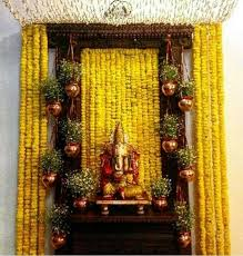 hindu decorations for home 81 best pooja decor images on ganesha hindus and puja