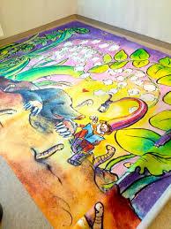 décorations murales impression sur vinyle roseline d u0027oreye