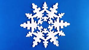How To Make A Snowflakes Out Of Paper - how to make a snowflake out of paper make snowflakes out of paper