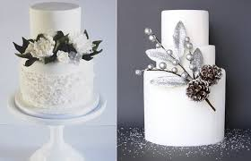 winter wedding cakes winter woodland wedding cakes cake magazine