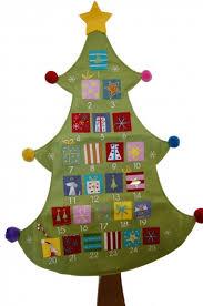 graham decoration bright fabric tree advent calendar