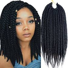 crochet hair extensions new vrhot 6packs 18 box braids crochet hair small synthetic hair