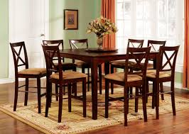 Dining Room Pub Table Sets Rustic Pub Table Sets With Rug U2014 Flapjack Design Small Rustic