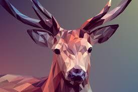 imagenes abstractas hd de animales low poly deer wallpaper 5k retina ultra hd fondo de pantalla and