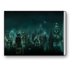online store bioshock rapture canvas print 16 x 12 inch