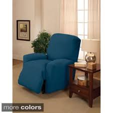 slipcover for recliner sofa recliner covers u0026 wing chair slipcovers shop the best deals for