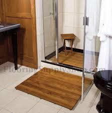 teak wood mat custom order by flooringsupplyshop com