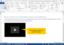 tutorial youtube word how to embed videos into microsoft word documents work smarter not