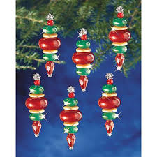 beaded ornament kit baubles 6917640 hsn
