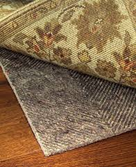 rug pads for hardwood floors rug pad corner