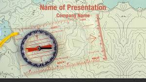 compass and map powerpoint templates compass and map powerpoint