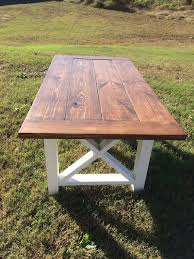 Wooden Table With Bench Best 25 Farmhouse Dining Tables Ideas On Pinterest Wood Dinning