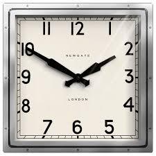 buy newgate quad wall clock h40 x w40cm john lewis
