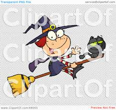 royalty free rf clipart illustration of a happy halloween witch