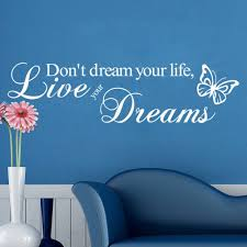 Decoration Star Wall Decals Home by Online Get Cheap Wall Stickers Home Decor Dream Aliexpress Com