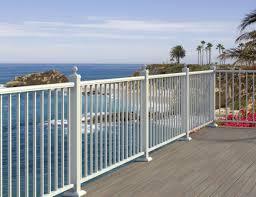 revetement pour escalier exterieur garde corps en aluminium à barreaux d u0027extérieur pour