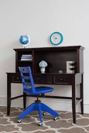blue writing desk blue rolling desk chair craft bedroom furniture