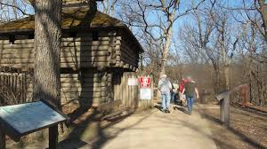 Matthiessen State Park Trail Map by Hike Starved Rock Matthiessen State Park April 14 2016