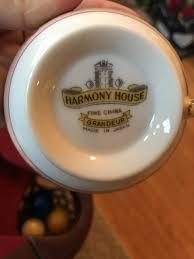 harmony house rosebud harmony house china artifact collectors