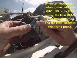 jeep wrangler light wiring part 2 jeep wrangler yj headlight diy relay wiring harness