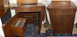 Singer Sewing Machine Desk Singer Sewing Machine Cabinet Styles Best Home Furniture Decoration