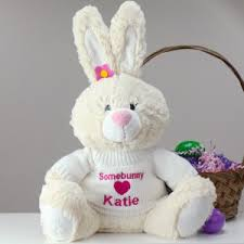 personalized easter bunnies personalized easter bunnies easter plush giftsforyounow