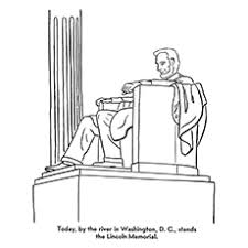 lincoln coloring pages gorgeous design lincoln memorial coloring page top 10 abraham