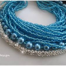 blue pearl necklace images Wedding blue pearl necklace chic selections shop jpg