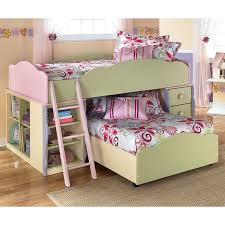 doll house bedroom set w twin over twin loft bed signature design