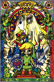 zelda stained glass wall mural decal zelda video game bedroom addthis sharing sidebar