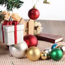 multi color christmas xmas tree baubles pendant set home wedding