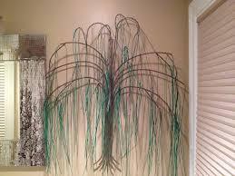 weeping willow custom metal wall for home decor gurtan designs