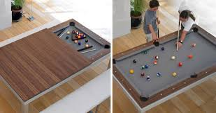 smallest room for a pool table can t find storage in your small house check out this awesome