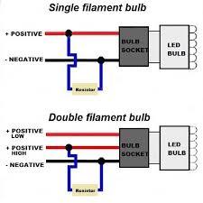 50watt 6ohm load resistors with connectors 2pk
