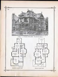 victorian mansion plans gothic frame dwelling vintage house plans 1881 antique victorian