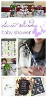 a secret garden baby shower