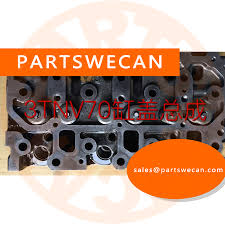 used cylinder head assy yanmar 3tnv70 engine 3tnv70 asa 3tnv70 hge