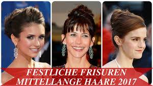 Hochsteckfrisurenen Mittellange Haar Zum Nachmachen by 12 Festliche Frisuren Für Mittellanges Haar Neuesten Und